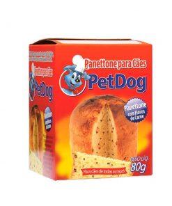 Panettone Pet Dog com Flocos de Carne para Cães 80g